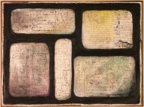 Pieces of Five (self-portrait)